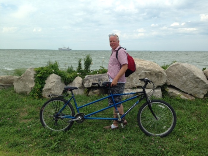 biking and boating