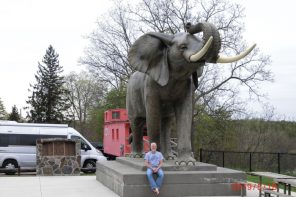 jumbo as a roadside attraction
